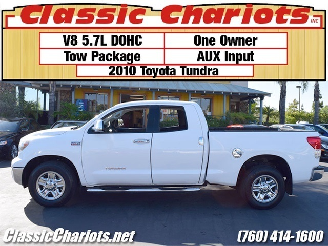 sold used truck near me 2010 toyota tundra for sale in escondido stock 12193 classic. Black Bedroom Furniture Sets. Home Design Ideas