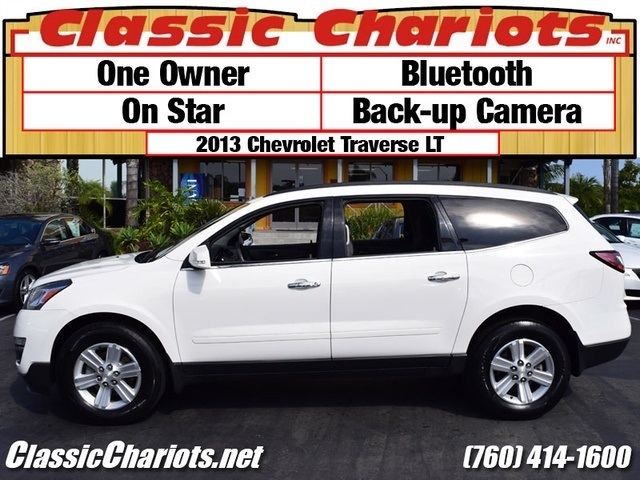 sold used suv near me 2013 chevrolet traverse lt with bluetooth back up camera and on. Black Bedroom Furniture Sets. Home Design Ideas