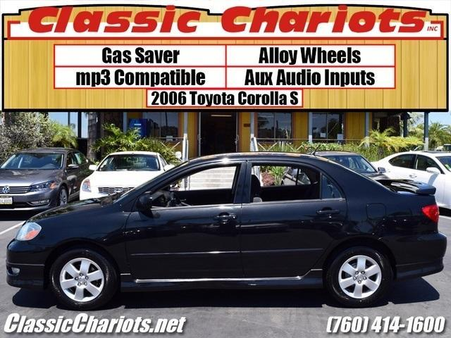 used car near me 2006 toyota corolla s with 4 new tires rear spoiler and kenwood stereo with. Black Bedroom Furniture Sets. Home Design Ideas