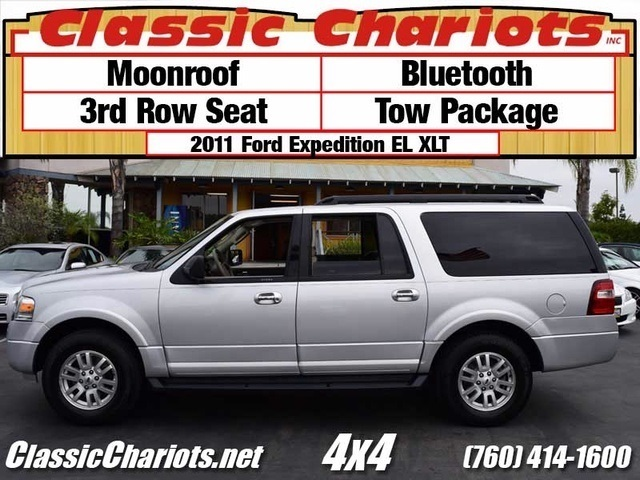 used suv near me 2011 ford expedition el xlt with moonroof bluetooth and 3rd row seat for. Black Bedroom Furniture Sets. Home Design Ideas