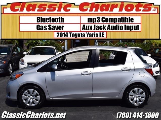 sold used car near me used 2014 toyota yaris 5 door le with bluetooth aux and one prior. Black Bedroom Furniture Sets. Home Design Ideas