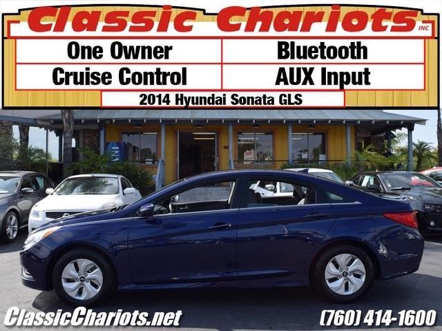 sold used car near me 2014 hyundai sonata gls with one owner bluetooth and cruise control. Black Bedroom Furniture Sets. Home Design Ideas