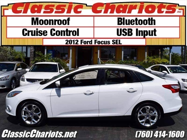 sold used car near me 2012 ford focus sel with moonroof bluetooth and usb input for sale. Black Bedroom Furniture Sets. Home Design Ideas