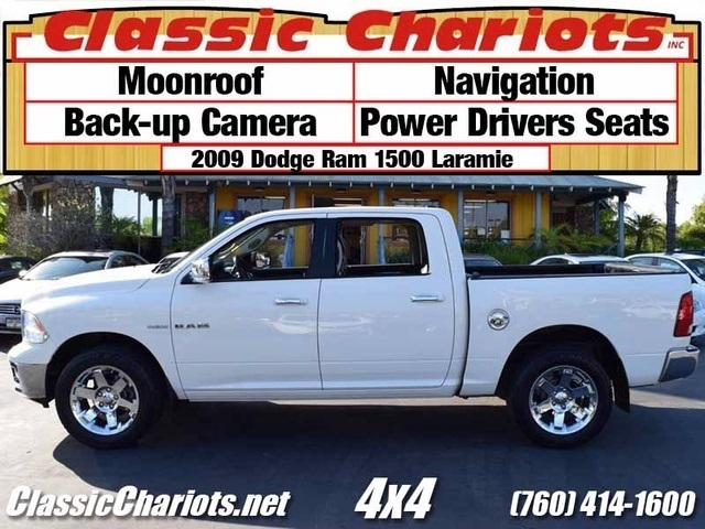 sold used truck near me 2009 dodge ram 1500 laramie with moonroof navigation and back up. Black Bedroom Furniture Sets. Home Design Ideas