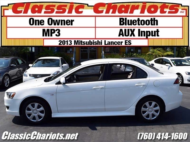 sold used car near me 2013 mitsubishi lancer es with bluetooth mp3 and aux input for sale. Black Bedroom Furniture Sets. Home Design Ideas