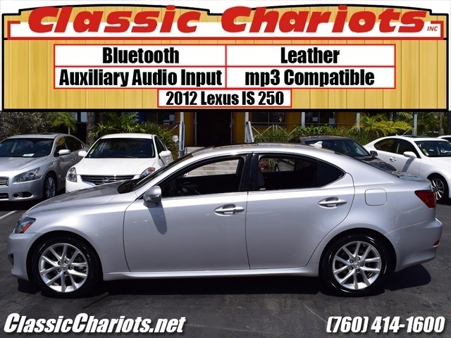 used car near me 2012 lexus is 250 with bluetooth leather and aux input for sale in. Black Bedroom Furniture Sets. Home Design Ideas