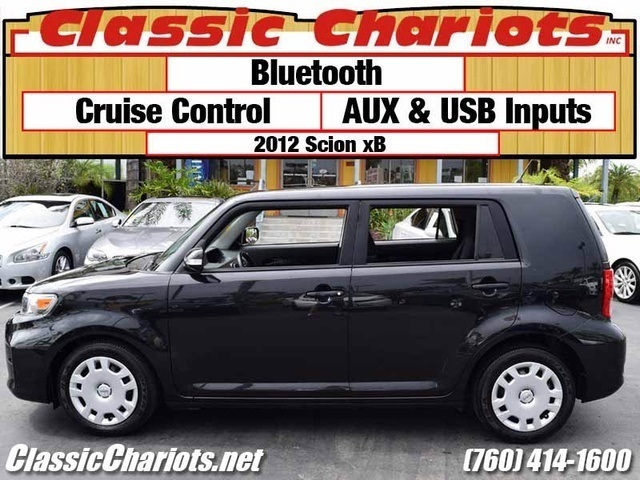 sold used car near me 2012 scion xb with bluetooth aux usb inputs for sale in escondido. Black Bedroom Furniture Sets. Home Design Ideas