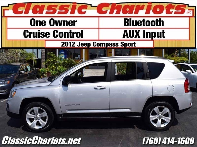 sold used suv near me 2012 jeep compass sport with bluetooth aux input and one owner for. Black Bedroom Furniture Sets. Home Design Ideas