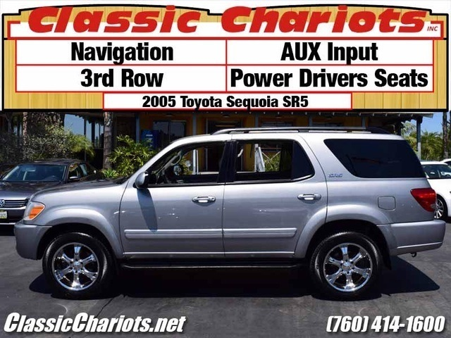 sold used suv near me 2005 toyota sequoia sr5 with navigation aux input and 3rd row for. Black Bedroom Furniture Sets. Home Design Ideas