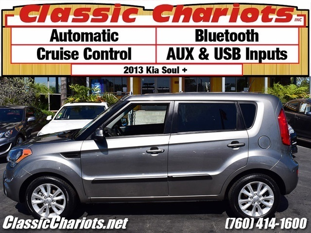 used car near me 2013 kia soul with bluetooth aux usb inputs for sale in escondido. Black Bedroom Furniture Sets. Home Design Ideas
