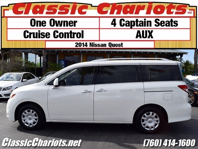 Quest Near Me >> Used Family Car Near Me 2014 Nissan Quest 3 5 S With Aux 4