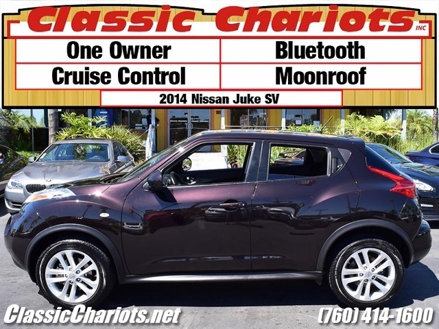 sold used car near me 2014 nissan juke sv with bluetooth moonroof and one previous owner. Black Bedroom Furniture Sets. Home Design Ideas