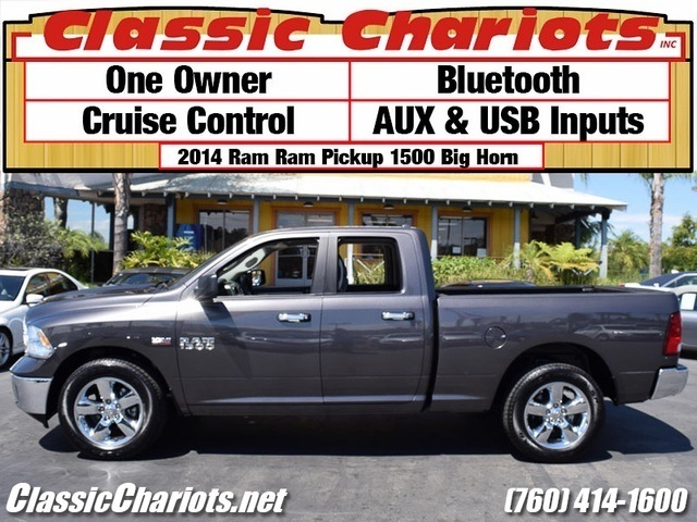 used truck near me 2014 dodge ram 1500 big horn with bluetooth aux usb and one owner for. Black Bedroom Furniture Sets. Home Design Ideas