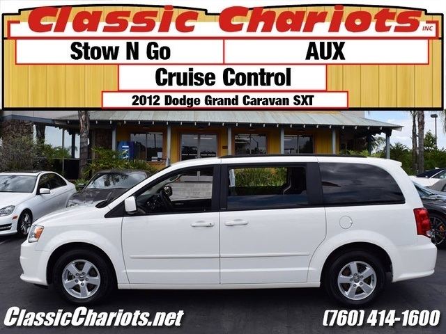 used family van near me 2012 dodge grand caravan sxt with aux stow n go for sale in. Black Bedroom Furniture Sets. Home Design Ideas