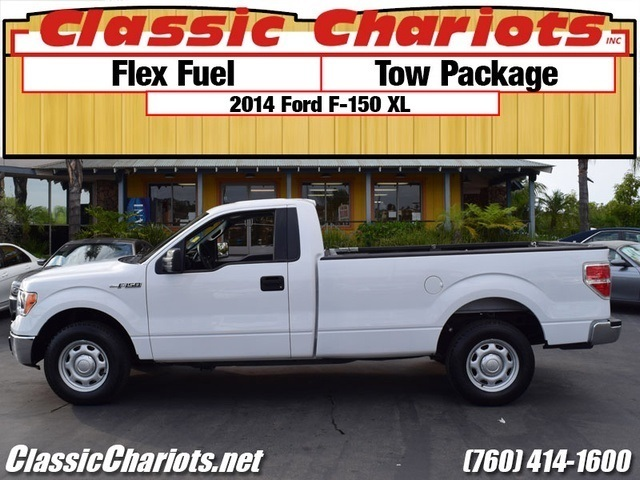 used truck near me 2014 ford f 150 xl with tow package and flex fuel for sale in san diego. Black Bedroom Furniture Sets. Home Design Ideas