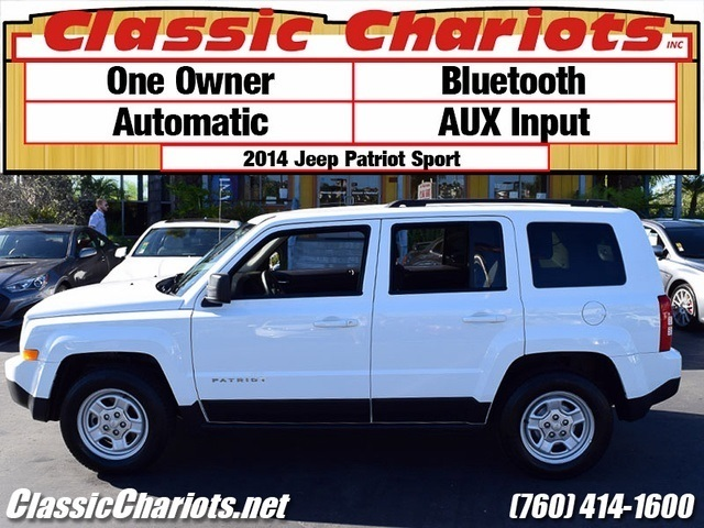 sold used suv near me 2014 jeep patriot sport with bluetooth aux input and one owner for. Black Bedroom Furniture Sets. Home Design Ideas