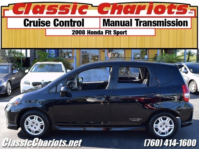 used car near me 2008 honda fit sport with cruise control and manual transmission for sale in. Black Bedroom Furniture Sets. Home Design Ideas