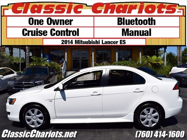 sold used car near me 2014 mitsubishi lancer es with bluetooth cruise control and manual. Black Bedroom Furniture Sets. Home Design Ideas