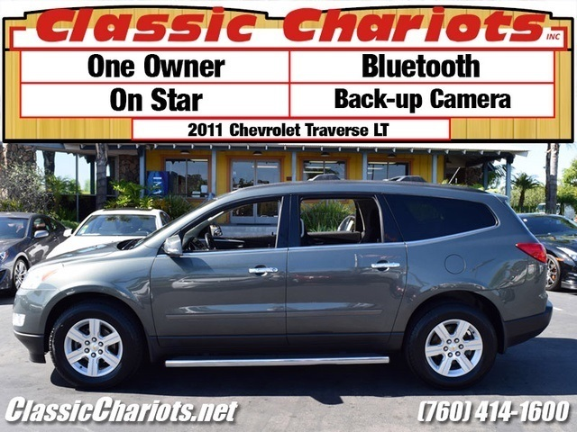 sold used suv near me 2011 chevrolet traverse lt with one owner bluetooth back up camera. Black Bedroom Furniture Sets. Home Design Ideas