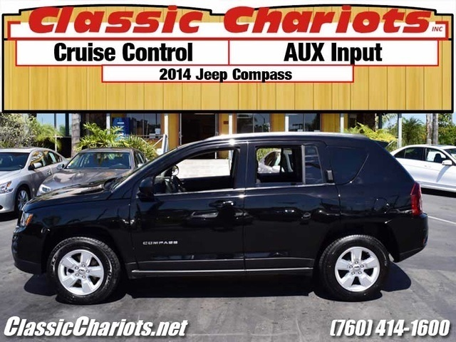 sold used suv near me 2014 jeep compass sport with cruise control and aux input for sale. Black Bedroom Furniture Sets. Home Design Ideas