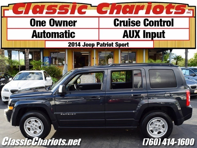 used suv near me 2014 jeep patriot sport with one owner cruise control and aux input for. Black Bedroom Furniture Sets. Home Design Ideas