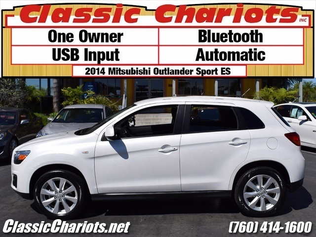 sold used suv near me 2014 mitsubishi outlander sport es with bluetooth one owner and usb. Black Bedroom Furniture Sets. Home Design Ideas