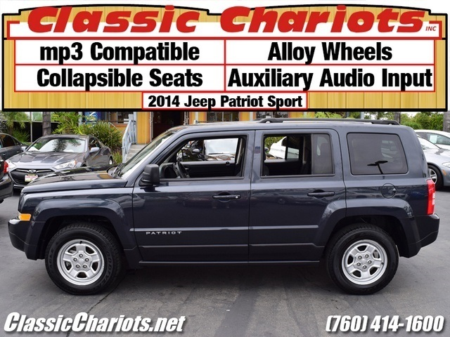 used suv near me 2014 jeep patriot sport with alloy wheels aux collapsible seats for sale. Black Bedroom Furniture Sets. Home Design Ideas