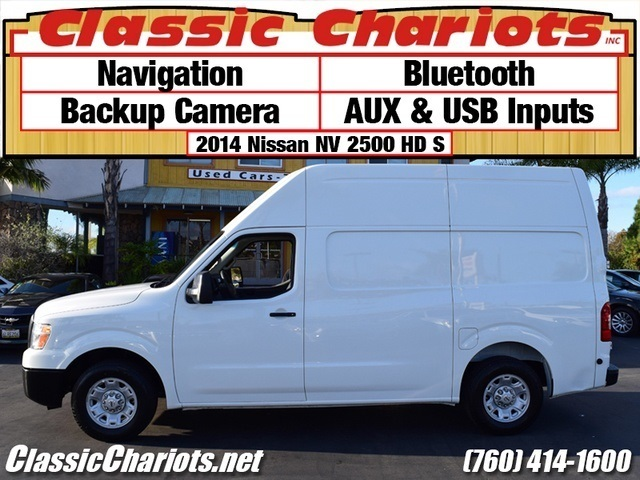 Sold Used Cargo Van Near Me 2014 Nissan Nv Cargo 2500 Hd S With