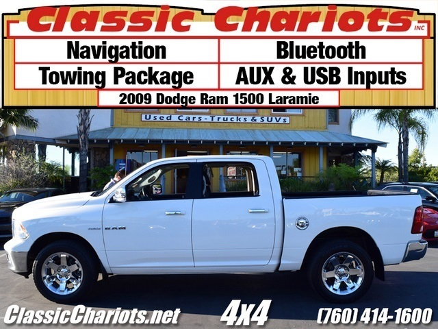 sold used truck near me 2009 dodge ram 1500 laramie with navigation bluetooth and towing. Black Bedroom Furniture Sets. Home Design Ideas