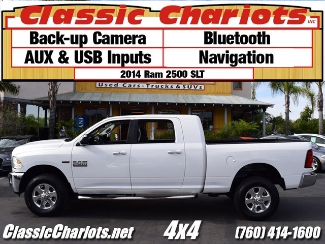 sold used truck near me 2014 ram 2500 big horn mega cab with back up camera bluetooth and. Black Bedroom Furniture Sets. Home Design Ideas