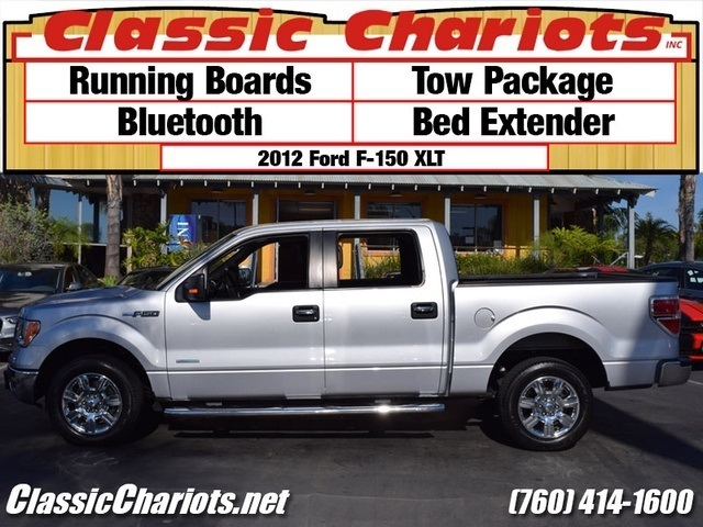 sold used truck near me 2012 ford f 150 xlt with running boards bluetooth and bed. Black Bedroom Furniture Sets. Home Design Ideas