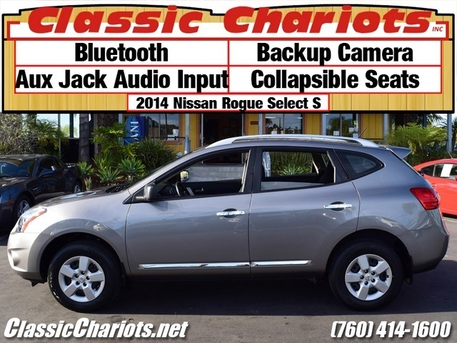 sold used suv near me 2014 nissan rogue select s with bluetooth backup camera and. Black Bedroom Furniture Sets. Home Design Ideas