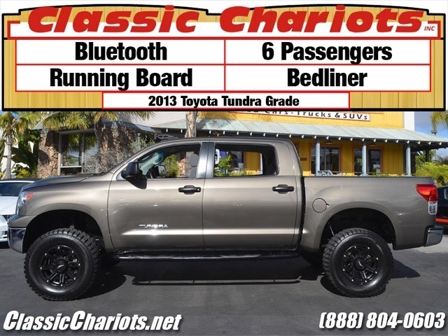 sold used truck near me 2013 toyota tundra crewmax with bluetooth 6 passengers and. Black Bedroom Furniture Sets. Home Design Ideas