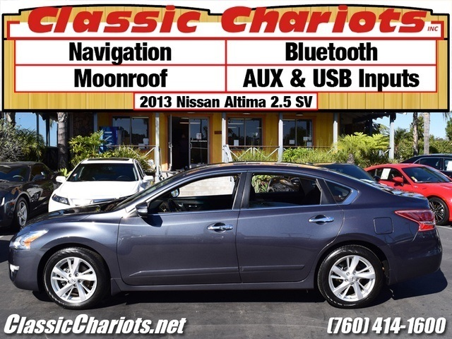 sold used car near me 2013 nissan altima 2 5 sv with navigation bluetooth and moonroof. Black Bedroom Furniture Sets. Home Design Ideas