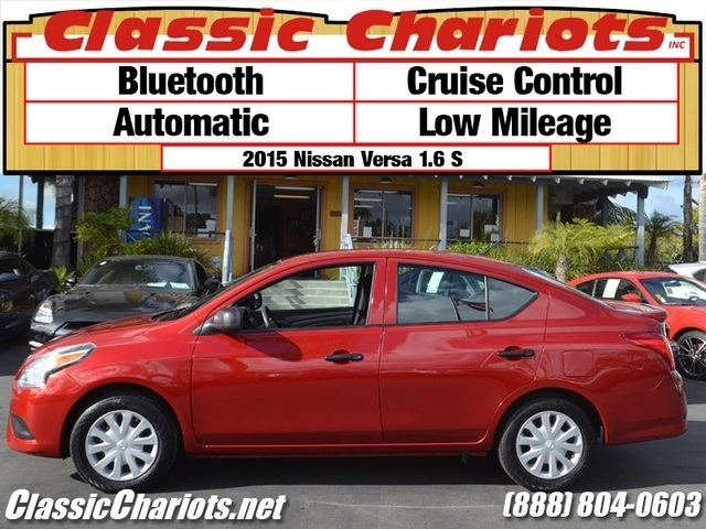 sold used car near me 2015 nissan versa 1 6 s with bluetooth automatic and cruise control. Black Bedroom Furniture Sets. Home Design Ideas