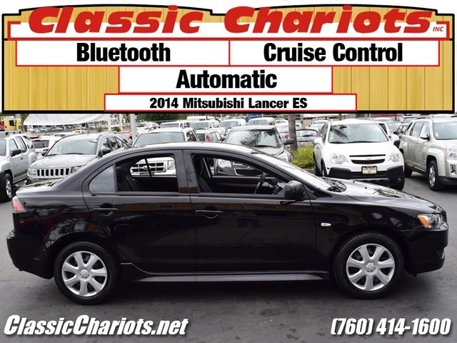 sold used car near me 2014 mitsubishi lancer es with bluetooth cruise control and. Black Bedroom Furniture Sets. Home Design Ideas