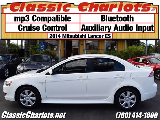 sold used car near me 2014 mitsubishi lancer es with bluetooth cruise control and aux. Black Bedroom Furniture Sets. Home Design Ideas