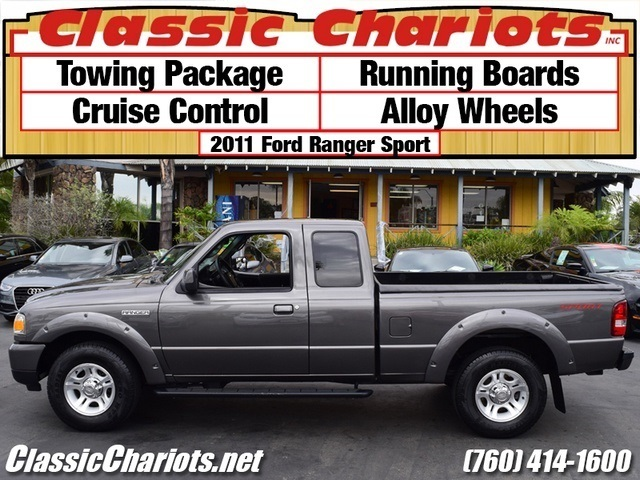 sold used truck near me 2011 ford ranger sport with towing package running boards and. Black Bedroom Furniture Sets. Home Design Ideas
