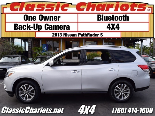 used suv near me 2013 nissan pathfinder sv with one owner bluetooth and 4x4 for sale in. Black Bedroom Furniture Sets. Home Design Ideas