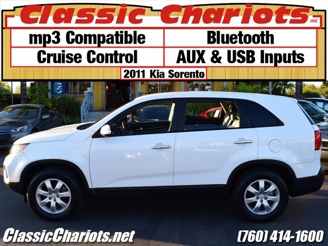 sold used suv near me 2011 kia sorento with bluetooth aux usb and mp3 compatible for sale. Black Bedroom Furniture Sets. Home Design Ideas