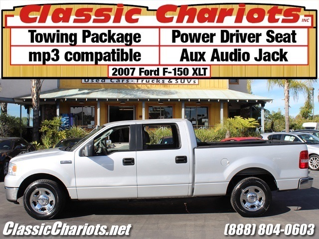 sold used car near me 2007 ford f 150 xlt with towing package mp3 compatible and power. Black Bedroom Furniture Sets. Home Design Ideas