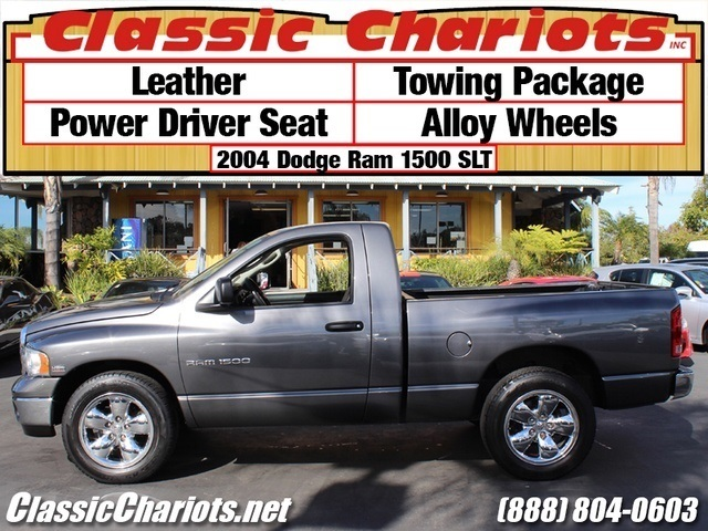 sold used truck near me 2004 dodge ram 1500 slt 2dr regular cab slt with leather towing. Black Bedroom Furniture Sets. Home Design Ideas
