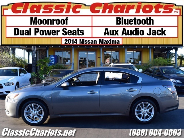 sold used car near me 2014 nissan maxima 3 5 sv with moonroof bluetooth and dual power. Black Bedroom Furniture Sets. Home Design Ideas