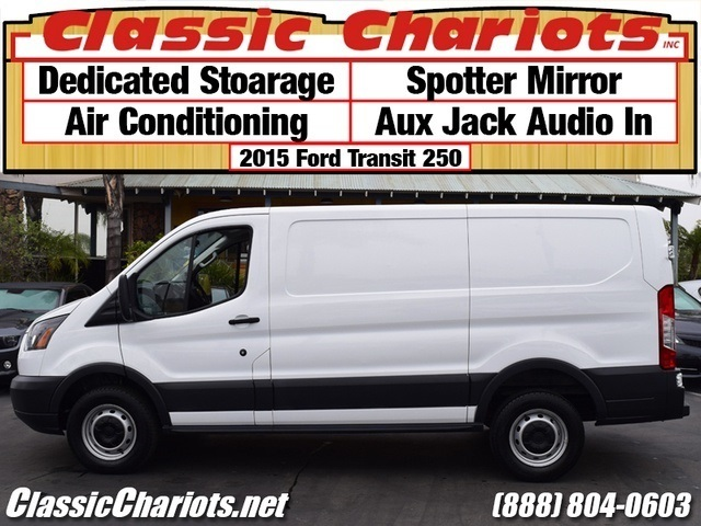Sold Used Cargo Van Near Me 2015 Ford Transit Cargo 250 With