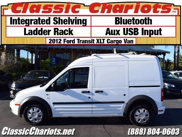 sold used commercial van near me 2012 ford transit connect cargo van xlt with integrated. Black Bedroom Furniture Sets. Home Design Ideas