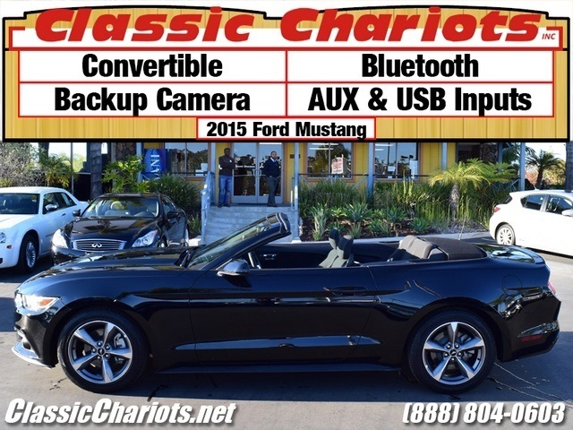 sold used car near me 2015 ford mustang v6 with convertible bluetooth and backup camera. Black Bedroom Furniture Sets. Home Design Ideas