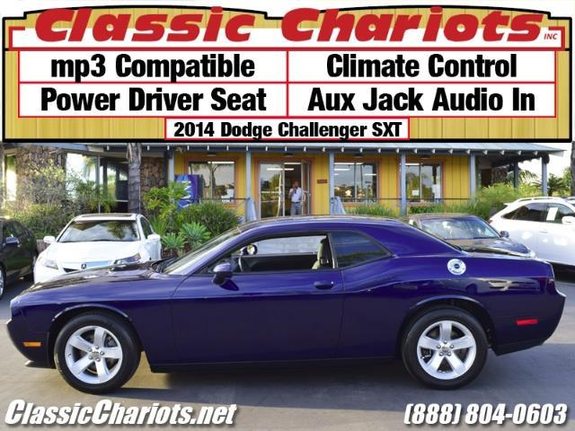 sold used car near me 2014 dodge challenger sxt with mp3 compatible climate control and. Black Bedroom Furniture Sets. Home Design Ideas