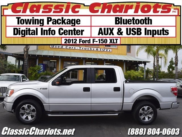 sold used truck near me 2012 ford f 150 xlt with towing package digital info center and. Black Bedroom Furniture Sets. Home Design Ideas