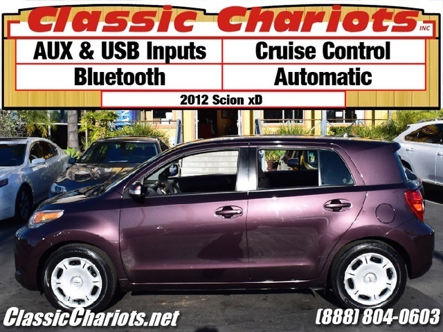 sold used car near me 2012 scion xd with bluetooth aux usb inputs for sale in escondido. Black Bedroom Furniture Sets. Home Design Ideas