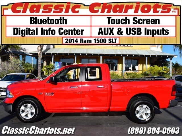 used used truck near me 2014 ram 1500 slt with bluetooth touch screen aux and usb inputs. Black Bedroom Furniture Sets. Home Design Ideas